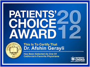 Patient Choice Award - Pain Treatment