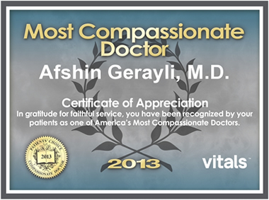 Vitals - Most compassionate doctor